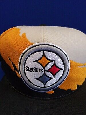 2b8516dc8 PITTSBURGH STEELERS NFL Mitchell And Ness Vintage Snapback 2-Tone ...