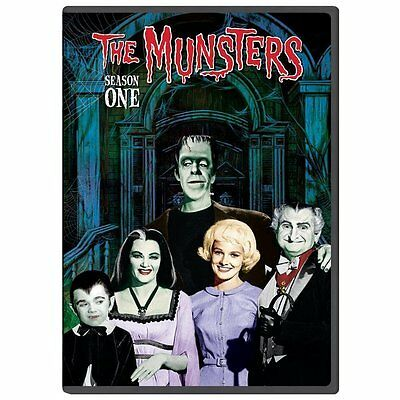 The Munsters - The Complete First Season (DVD, 2013) New & Sealed