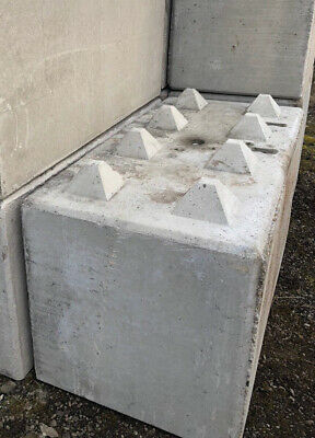 CONCRETE LEGO BLOCKS and wall barriers - £75 00 | PicClick UK