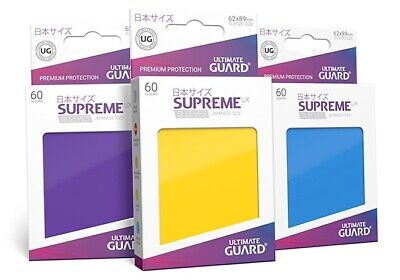 Ultimate Guard - Supreme UX Sleeves (60)  [Japanese Size] [19 colours]