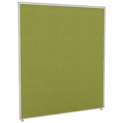 Partition Screen 1200 x 1400 White Frame Green Fabric