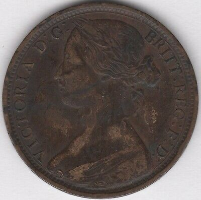 1863 Victoria Penny | British Coins | Pennies2Pounds