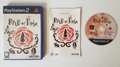 Rule Of Rose PS2 Used SAME DAY FREE SHIPPING
