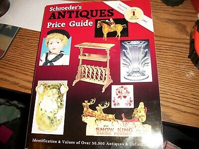 SCHROEDER'S 20th EDITION- ANTIQUE PRICE GUIDE DATED 2002