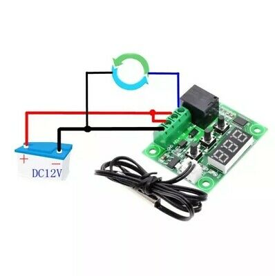 DC 12V Temperature Control Module ON / OFF -50-110°C W1209 Digital Thermostat