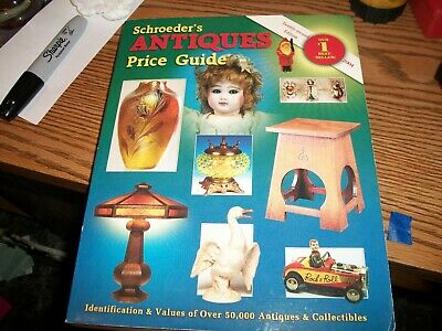 SCHROEDER'S ANTIQUE IDENTIFICATION & PRICE GUIDE  22nd  Edition 2004