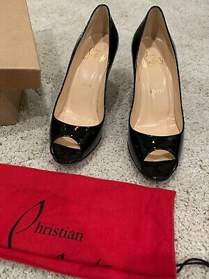 promo code d06ce 0f41a $745 CHRISTIAN LOUBOUTIN Yootish 100 Patent Degrade Red ...