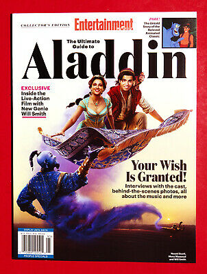 Entertainment Weekly Collector's 2019, The Ultimate Guide To Aladdin, New BOOK