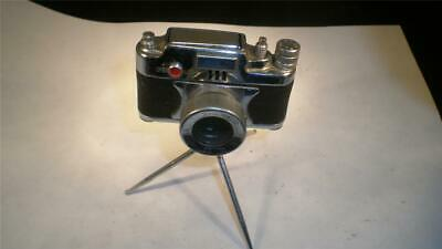 Vintage Oriental Spy Camera Lighter W Tripod Compass Very Cool Occupied Japan Lighters Collectibles