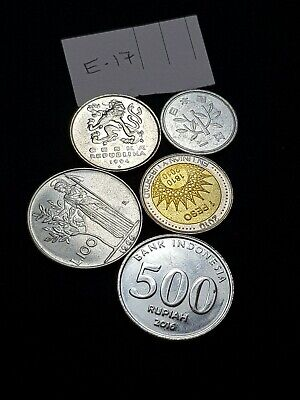 International World MIXED Coins Collectable asia euro indo Italy holiday 👌 lot!