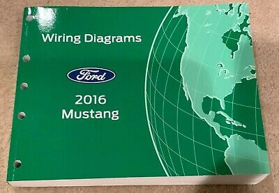 2016 ford mustang gt all models wiring electrical diagram manual oem