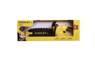 Stanley Jr Chainsaw Workshop Tools Toys Kids Play Set Gift Realistic Toy