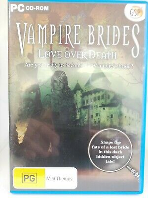 Vampire Brides - Love Over Death - PC CD-ROM - Hidden Object Game