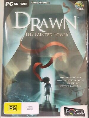 Drawn - The Painted Tower - PC CD-ROM - Hidden Object Game