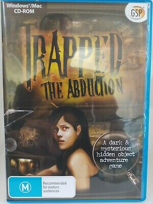 Trapped - The Abduction - PC CD-ROM - Hidden Object Game