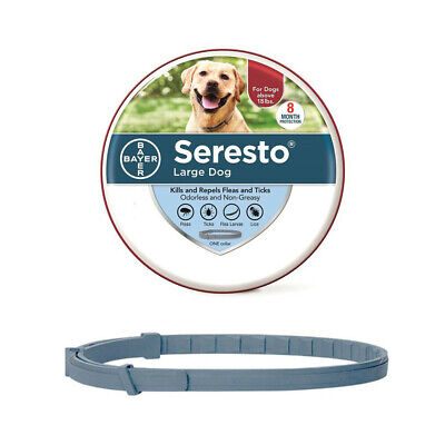 Seresto Bayer Flea & Tick Collar for Large Dogs Flea Tick Remedy18lbs(8kg) 70cm