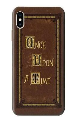 S2824 Once Upon a Time Book Cover Schutz Hulle Tasche IPHONE Samsung usw