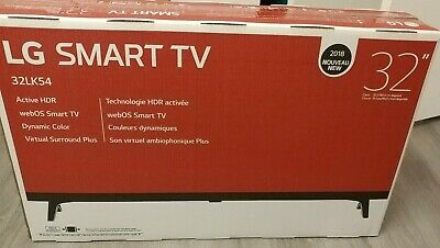 "LG 32LK540BPUA 32"" LED HD 720p Smart TV with Active HDR - Brand New!!"