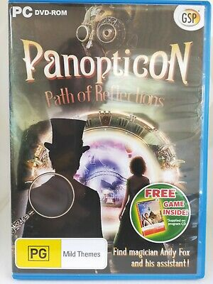 Panopticon - Path of Reflections - PC CD-ROM - Hidden Object Game