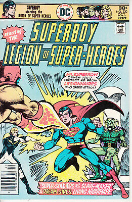 DC Superboy and Legion of Super-Heroes, #220, 1976, Jim Shooter, Mike Grell