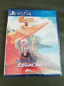 Ghost Blade HD Sony PS4 limited ed retro remastered New Sealed case damaged Rare
