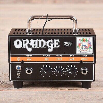 *** ORANGE MICRO DARK Topteil Röhre Mini Amp Rock METAL 20W ***