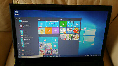"FAST Intel i5 3.20ghz 15.6"" Laptop 4gb 240gb SSD WiFi WebCam Win10 Win7 HDMI"