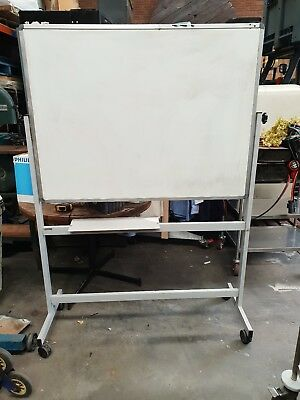 Double Sided Whiteboard - Portable - 120cm x 90cm