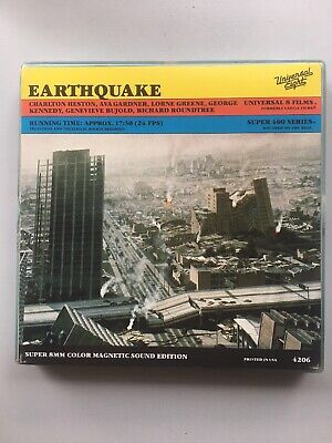Earthquake Super8 Film