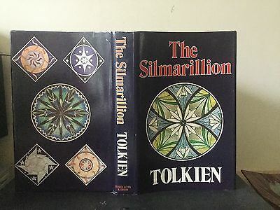 Tolkien - The Silmarillion (1/1) (1977) Hb Dw Lord Of The Rings / Hobbit