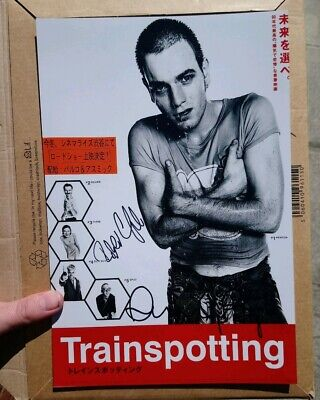 Trainspotting Robert Carlyle Danny Boyle Signed Autograph Photo Genuine Rare