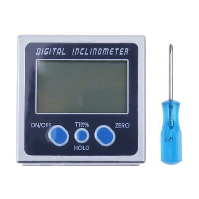 Digital Angle Gauge Protractor Inclinometer Bevel Box Level Meter Angle Finder