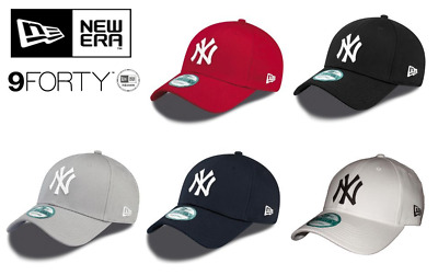 NEW ERA - 9Forty Baseball Cap. NEW YORK YANKEES. FREE POSTAGE. ONE SIZE FITS ALL