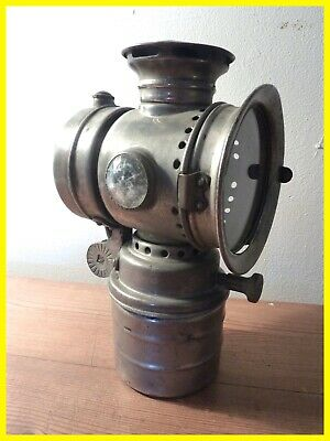 Lanterne Lampe Vintage Vitaphare  Moto Vélo Motocycle Cycle Lamp Bike Torch Old