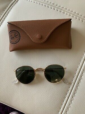 Small Rb3447 Métal 001 21 Round Or 47 De Lunettes Soleil Ray Ban WYEHD29I