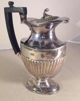 Richard Richardson Antique English Silver Plated A1 Coffee Pot Sheffield c1900