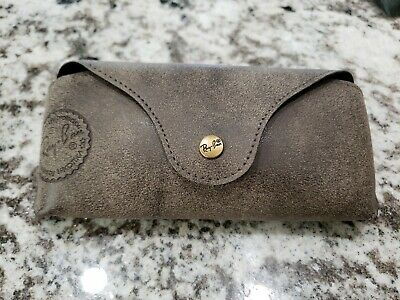 Ray ban Brand new leather case only Brown Leather case New