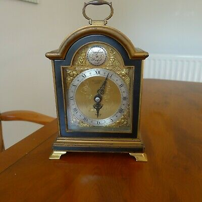 Small   Elliott    Tempus Fugit    Bracket Clock