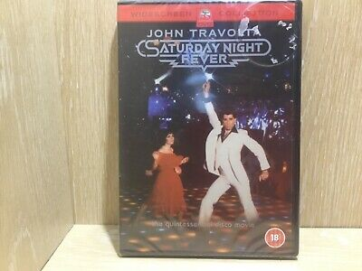 Saturday Night Fever DVD New & Sealed John Travolta