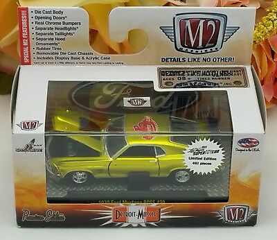 2015 M2 Super Toycon Convention Chase Car 1970 Ford Mustang Boss 429 Spec 1/ 492