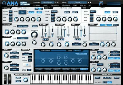 NEW Sonic Academy ANA 2 ✔ 64-bit (VST,AU) ✔ for MAC ✔ INSTANT DELIVERY ✅