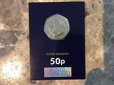 2019 Boy Scouts 50 Years Of The 50P Coin 2019 Uk Bunc Royal Mint New Rare