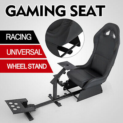 Racing Simulator Cockpit Wheel Stand For Logitech G29 Pre-drilled PS2 Dynamic