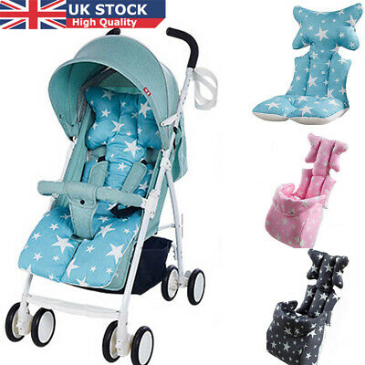 Baby Stroller Buggy Pram Pushchair Liner Cover Mat Soft Pure Cotton Car Seat Pad