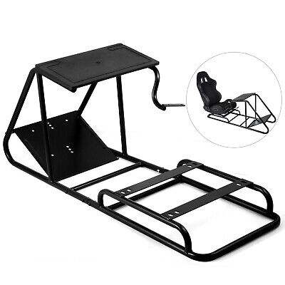 Racing Simulator Cockpit Wheel Stand for PS3 Play Station Video Upholstered