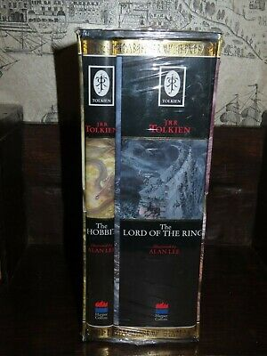 2000 THE HOBBIT & LORD OF THE RINGS by JRR TOLKIEN - ALAN LEE illustrated