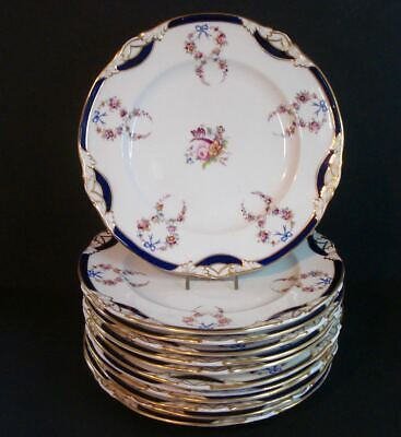 Set of 12 ~ 19th Century ~ Old Paris ~ Porcelain ~ Dinner Plates