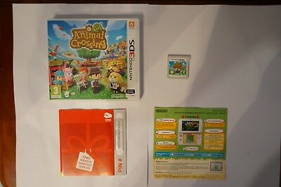 Welcome to Animal Crossing New Leaf Nintendo 3ds ds original genuine EUR 2ds