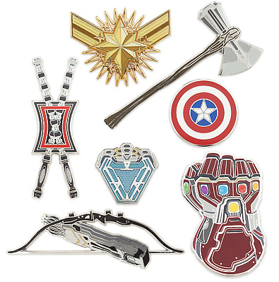SOLD OUT 2019 Disney Marvel Avengers: Endgame pin set Limited Edition of 2200