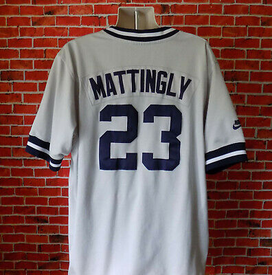 3ea5f7b470f Men's Vintage Nike N.Y. Yankees Cooperstown Collection Jersey Don Mattingly  XXL